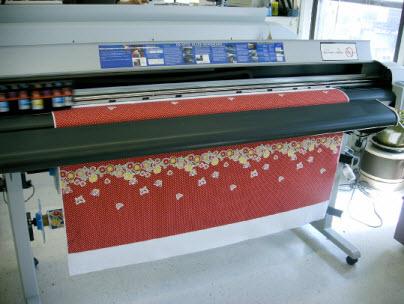 Цифровая печати на ткани
