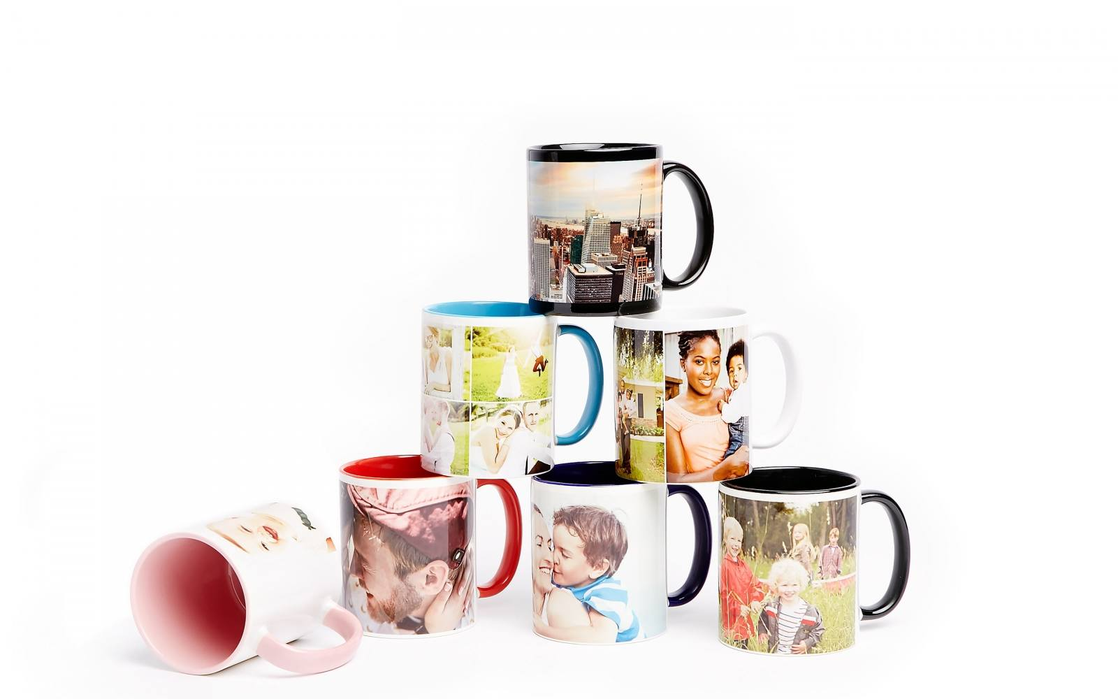 Digital photos on mugs