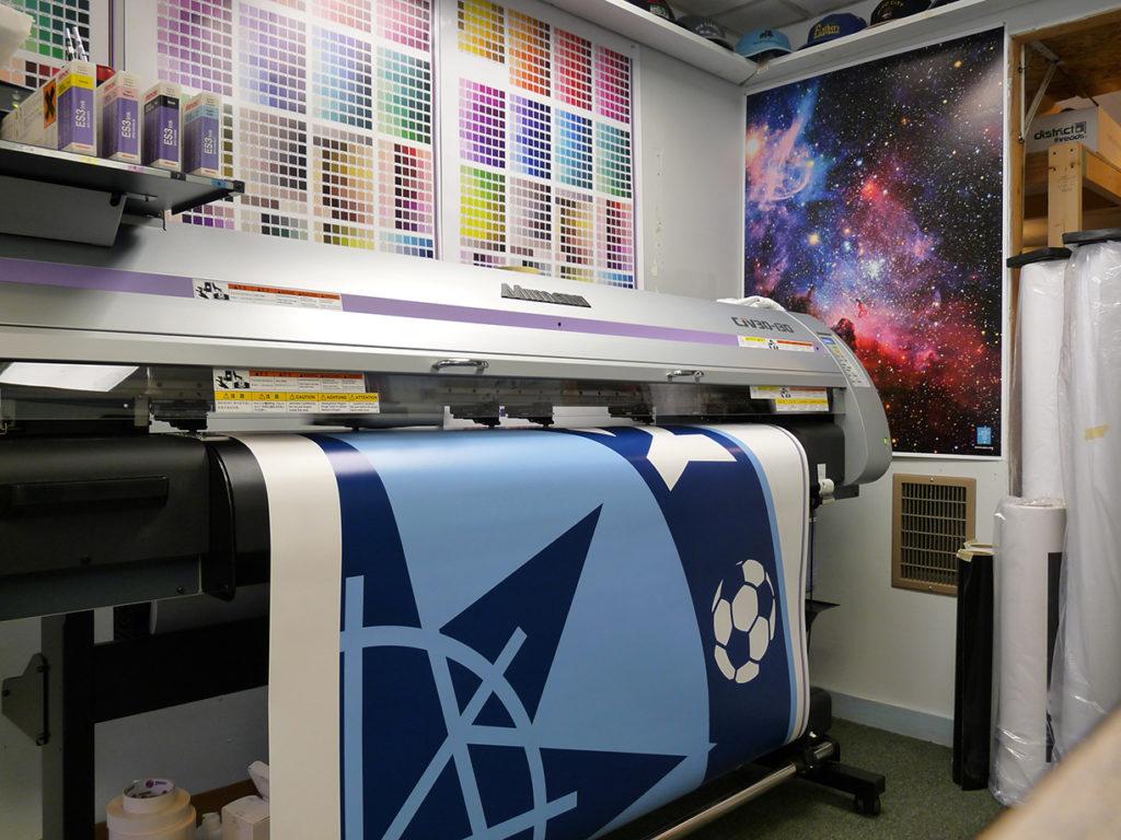 Сделать широкоформатную печать