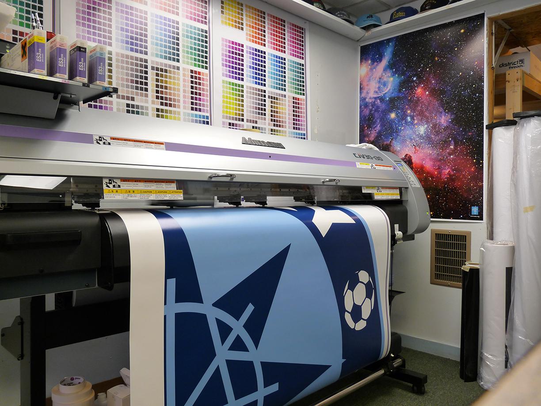 Что такое широкоформатная печать?