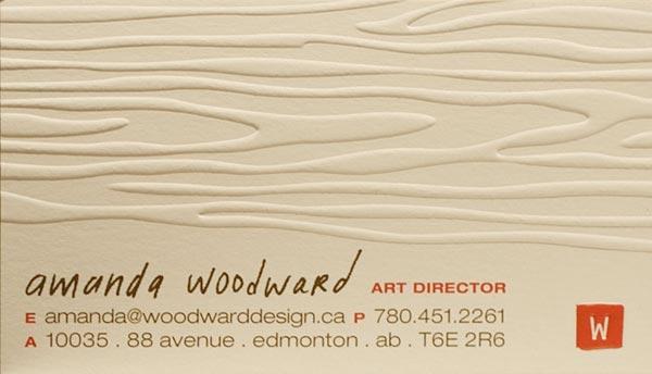 Виды печатной техники визиток с примерами 8