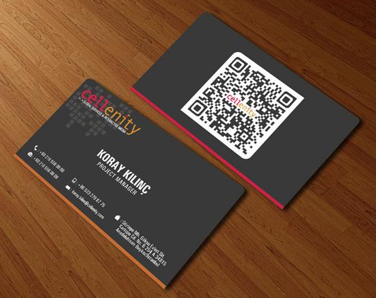 добавления QR-кода в дизайн визитной карточки