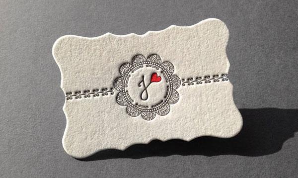 Виды печатной техники визиток с примерами 13